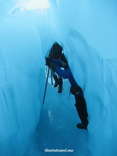 glacier hike, blue ice, outdoors, adventure