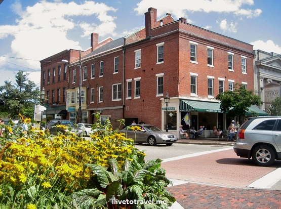 Portsmouth, New Hampshire on a beautiful summer day