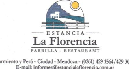 La Florencia restaurant in Mendoza, Argentina, great for parrillada