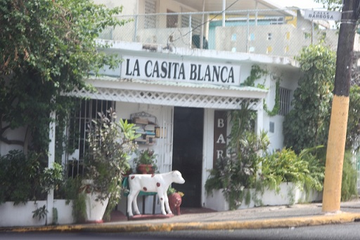 Casita Blanca in Barrio Obrero in Puerto Rico