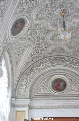 Ceilings of The Hermitage in St. Petersburg, Russia