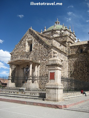 Church of the Immaculate Conception in Lampa, Peru