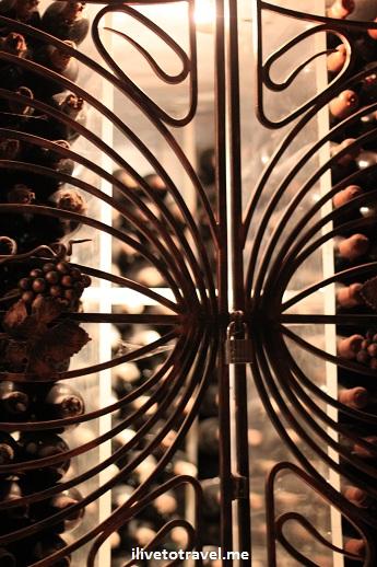 Private wine collection stored in Milestii Mici's tunnels in Moldova