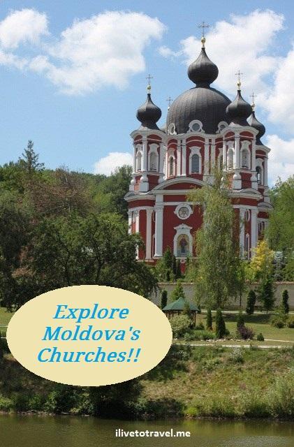 Moldova, Chisinau. Kishnev, church, monastery