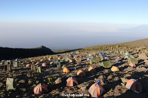 Karanga Camp at Kilimanjaro's Machame Route