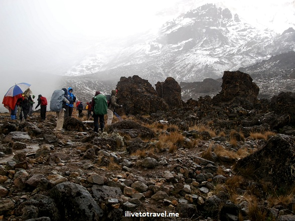 Stormy weather in Kilimanjaro