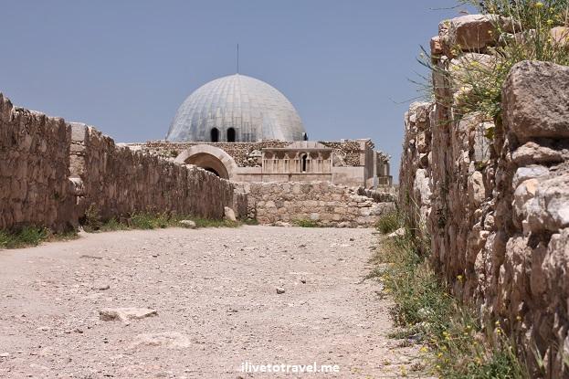 Umayyad Palace Citadel amman jordan dome ruin Canon EOS Rebel