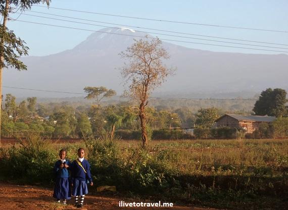 Kilimanjaro, Tanzania, Moshi, Honey Badger Lodge, children, special, vista