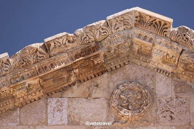Arch Hadrian Roman ruins history Jerash Gerasa Jordan Canon EOS Rebel