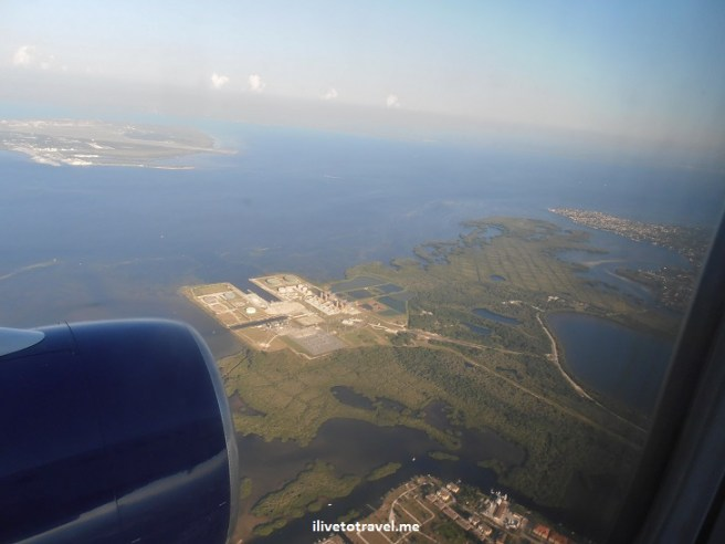 OLYMPUS DIGITAL CAMERA, flight, plane, flying, blue sea, flyover, view, view from plane, Tampa Bay
