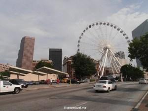 Skyview, Atlanta, downtown, Ferris wheel, views, Olympus, ride, thrill