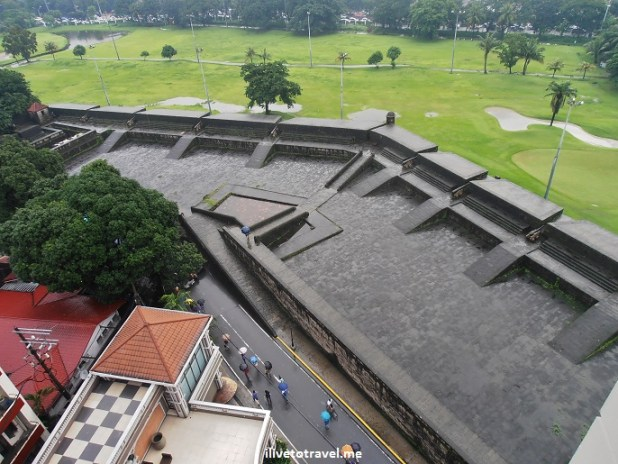 Intramuros, Manila, city walls, Manila Town Hall, Philippines, golf course, Olympus