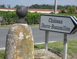 Bordeaux, chateau, signs, driving, France, wine, travel