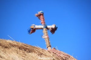 Photo of the Week – A Cross in the Desert