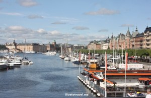 Stockholm:  A City One with the Water