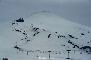 Villarica volcano, ski, Chile, Pucón