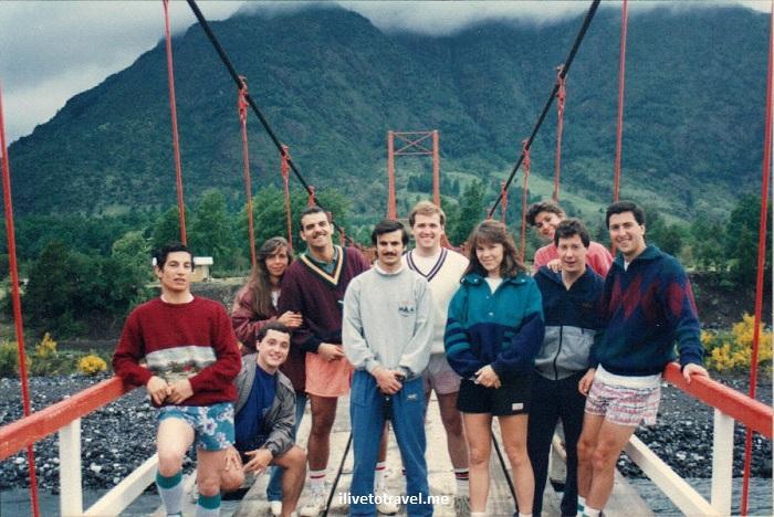 Trancura, river, Chile, tourism