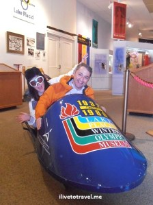 bobsled, Olympic museum, Lake Placid, Olympus