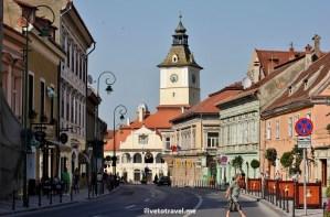Brașov, Romania, architecture, travel