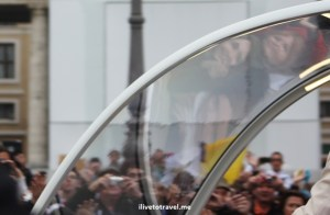 Pope mobile, Pope, Vatican, St. Peter's Square, papal audience, Catholic, faithful, emotion