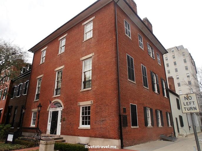 Decatur House, Washington D.C., DC, Lafayette Square, Jackson Place, architecture, history, Van Buren