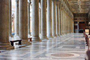 Rome, St. Paul, Outside The Walls, fuori le mura, major basilica, Catholic Church, colonnade, travel, photo, Italy,