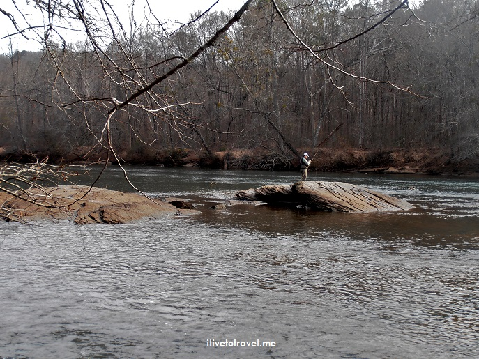 trout, fishing, Chattahoochee River, Island Ford, Atlanta, Olympus, photo, hiking