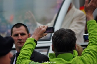 Vatican, Pope, Pope mobile, security guard, Benedict XVI, photographer, Catholic, Papal audience