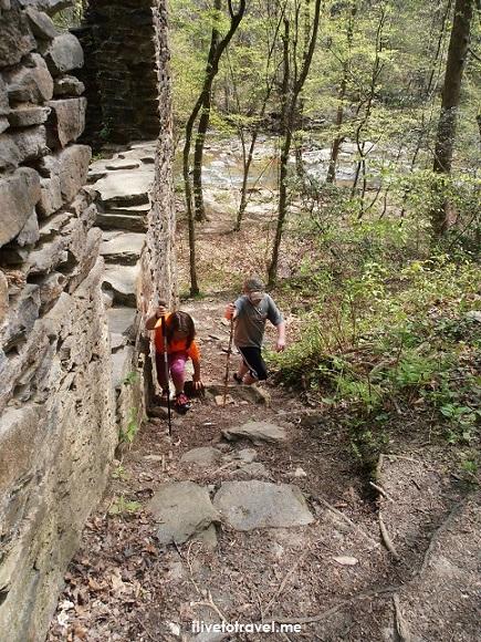 Sope Creek, Atlanta, hiking, tadpoles, nature, outdoors, Georgia, old mill, Civil War, Paper Mill Road, rapids