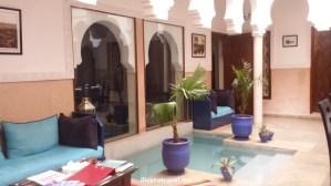 Marrakesh, Morocco, riad, hotel, courtyard, photo, travel, Samsung