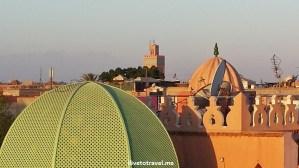 Marrakesh, Morocco, Mon Riad, view, medina