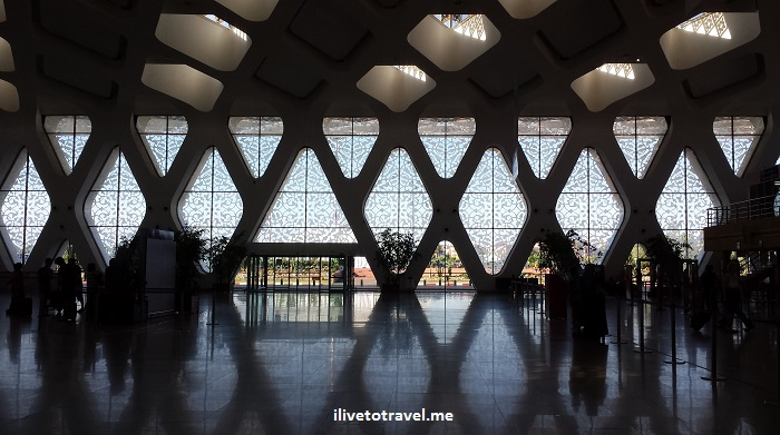 Marrakesh, Morocco, airport, photo, travel