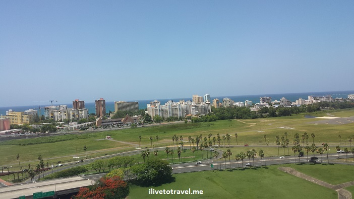 Puerto Rico, airplane, Isla Verde, window seat, San Juan, landing, ocean, blue sea ,El Morro, Old San Juan, travel, photo, Samsung Galaxy