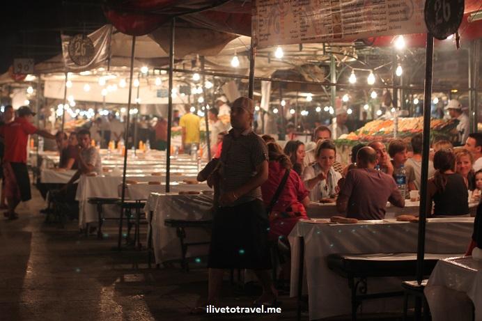 eateries, restaurants, cafes, Morocco, food stand, medina, Djemaa el Fna, Jemaa el-Fnaa, Canon EOS Rebel