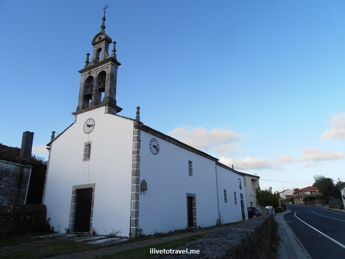 church, igrexa, iglesia, Camino, Santiago, Spain, Olympus, travel, photo, Boente, pilgrimage, trek, hiking