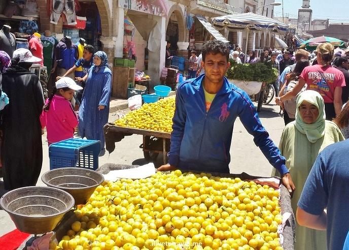 Essaouira, Morocco, souk, market, Old Medina, food, fruit, Samsung Galaxy