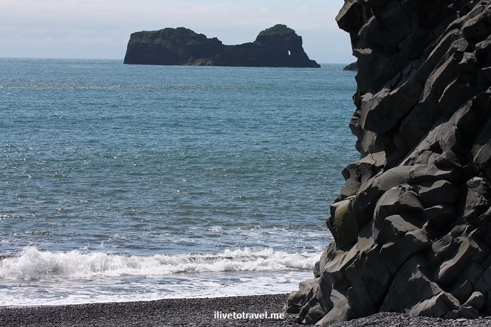 Dyrholaey, peninsula, Atlantic Ocean, Iceland, black sand, lava rocks, volcanic, travel, photo, Canon EOS Rebel