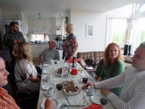 Iceland, dinner table, photo, Olympus