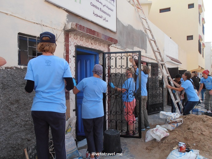 Bayti Centre, Essaouira, Morocco, travel, volunteerism, Olympus