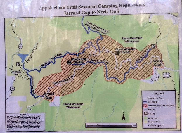 Appalachian Trail In Georgia Map.Hiking Tips From An Unexpected Climb Of Blood Mountain
