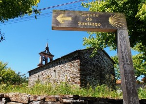 On the Camino de Santiago:  Day 6 from Salceda to Lavacolla