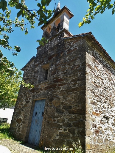 Camino de Santiago, church, Lavacolla, Spain, España, Espagne, trekking, hiking, pilgrimage, travel, photo, outdoors, Olympus