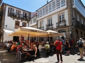 Dakar, Santiago de Compostela, café, architecture, travel, food, photo