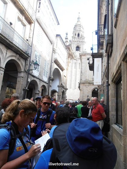 Cathedral, Santiago de Compostela, Plaza del Obradoiro, Camino, The Way, pilgrimage, Spain, España, Espagne, travel, trekking, hiking, photo, Olympus
