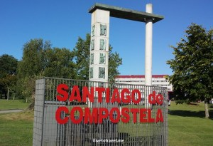 On the Camino de Santiago:  Day 7 from Lavacolla to Santiago!