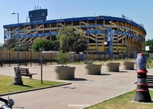 Boca Junior, La Bombonera, La Boca, Buenos Aires, barrio, Argentina, colorful, historical, travel, culture, photo, Olympus
