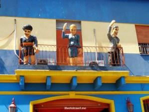 La Boca, Buenos Aires, barrio, Argentina, colorful, historical, travel, culture, photo, Olympus, Evita, Maradona, Gardel