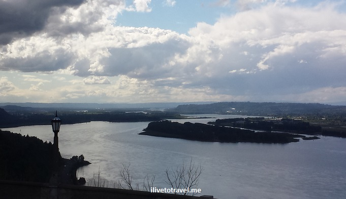 Columbia River, Portland, Oregon, gorge, Vista House, nature, outdoors, travel, Samsung Galaxy, photo
