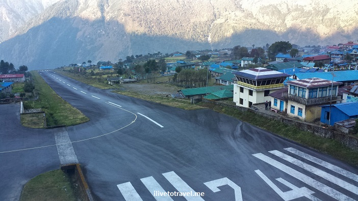 Lukla, airport, Nepal, dangerous, Himalayas, travel, flight, airplane, landing, takeoff, runway
