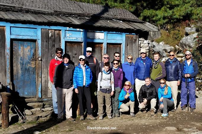 Tok Tok, trekkers, Everest Base Camp, Nepal, Himalayas, trekking